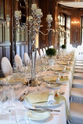 Witt Hochzeit lange Tafel
