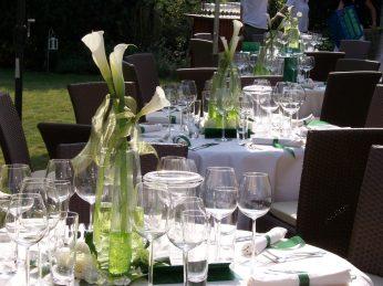 Witt Firmenevents: Deko für den Tisch