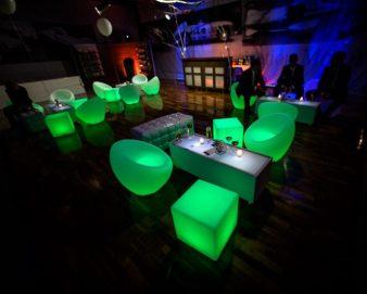 Witt Firmenevents LED Lounge