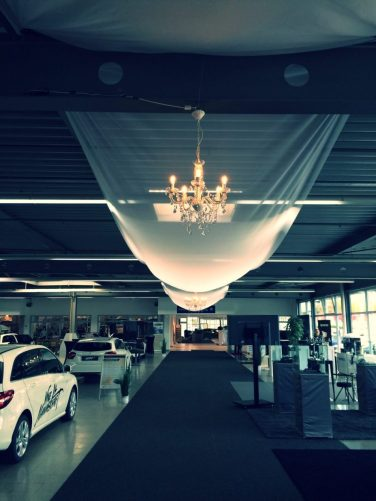 Witt Firmenevents: Showroom Dekoration