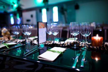 Witt Firmenevents Tischdekoration